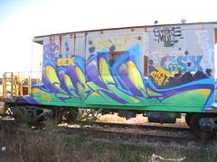 AWOL (Billy Danze.) Tags: chicago graffiti awol rtd rtdk dc5 d30 freight caboose smore mul