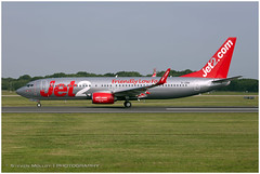 G-JZBA Boeing 737-8MG | Jet2 | Manchester MAN/EGCC | 29.06.2019 (<Steven>) Tags: man manchesterairport egcc jet2 boeing737
