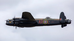 Lancaster (Bernie Condon) Tags: avro lancaster raf bomber bbmf memorialflight pa474 military warplane classic preserved vintage memorial aircraft plane flying aviation ww2 royalairforce british uk riat airtattoo tattoo ffd fairford raffairford airfield display airshow