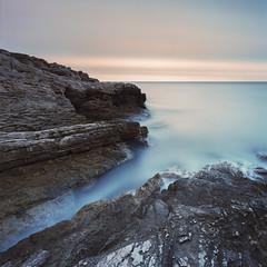 Calanques (PLF Photographie) Tags: film hasselblad portra 400 swc m marseille calanques pose longue long exposure landscape seascape