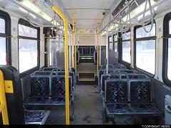 Winnipeg Transit D40LFR-Interior (vb5215's Transportation Gallery) Tags: winnipeg transit 2010 new flyer d40lfr