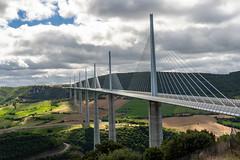 Millau 01 (Chris Protopapas) Tags: sony viaduc millau bridge structure landscape tarn france viaducdemillau tower cablestayed