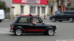 Mini Cooper Sport 1999 (Wouter Bregman) Tags: av040we mini cooper sport 1999 minicooper noir black le bourget lebourget 93 seinesaintdenis france frankrijk youngtimer old classic british car auto automobile voiture ancienne anglaise uk brits vehicle outdoor