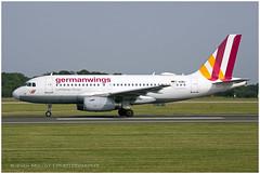 D-AGWJ Airbus A319-132 | Eurowings | Manchester MAN/EGCC | 29.06.2019 (<Steven>) Tags: man manchesterairport egcc germanwings eurowings airbusa319