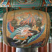 Le tambour du temple Haein-sa (Gyeongsangnam-do, Corée du sud)