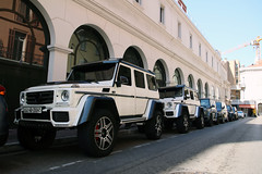 Mercedes-Benz Brabus G 500 4X4² (R_Simmerman2) Tags: mercedesbenz brabus g 500 4x4² g500 4x4 mercedes benz amg monaco monte carlo casino valet parking garage hotel combo harbor boulevard supercars sportcars hypercars monacocars carsofmonaco france cannes