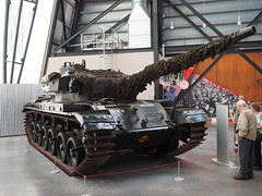 Centurion at Cosford (Hammerhead27) Tags: museum cosford rafmuseum camouflage army british classic historic old displayed preserved tracks hull turret gun military vehicle armor armour tank centurion
