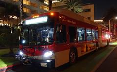 LACMTA 8718_704 Ocean & Arizona 5-Nov-2019 (jonriley1979@att.net) Tags: lacmta metro losangeles newflyer nfi xn60 rapid xcelsior bus