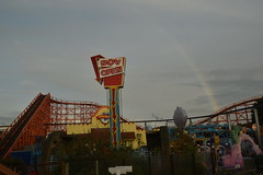 Rainbow over Nickelodeon Land (CoasterMadMatt) Tags: blackpoolpleasurebeach pleasurebeachblackpool blackpoolpleasurebeach2019 pleasurebeachblackpool2019 park beach amusement fairground parks theme amusementpark blackpool themepark pleasure 2019season nickelodeon blackpoolattractions nickelodeonstreak englishamusementparks amusementparksinengland attractionsinblackpool world voyage up order streak land krusty krab doras woodencoaster nickelodeonland dorasworldvoyage krustykraborderup rainbow ride roller rides rollercoaster coaster coasters rollercoasters englishrollercoasters rollercoastersinengland blackpoolsrollercoasters rollercoastersinblackpool rainbows meteorologicalphenomenon uk greatbritain november autumn england photography coast europe northwest photos unitedkingdom britain lancashire photographs gb southshore lancs fylde 2019 northwestengland fyldecoast november2019 coastermadmatt nikond3500 coastermadmattphotography autumn2019