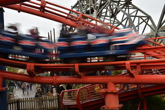 Motion Blur Out of the Station (CoasterMadMatt) Tags: blackpoolpleasurebeach2019 pleasurebeachblackpool2019 blackpoolpleasurebeach pleasurebeachblackpool blackpool pleasure beach 2019season amusementpark themepark fairground amusement theme park parks amusementparksinengland englishamusementparks blackpoolattractions attractionsinblackpool thebigone bigone pepsimaxbigone pepsi max big one hypercoaster revolution launchcoaster ride rides rollercoasters rollercoaster roller coasters coaster blackpoolsrollercoasters rollercoastersinblackpool englishrollercoasters rollercoastersinengland rollercoasterriders rollercoastertrain rider riders train trains southshore fyldecoast fylde coast lancashire lancs northwestengland northwest england britain greatbritain gb unitedkingdom uk europe november2019 autumn2019 november autumn 2019 coastermadmattphotography coastermadmatt photography photographs photos nikond3500
