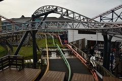 Last Place! (CoasterMadMatt) Tags: blackpoolpleasurebeach2019 pleasurebeachblackpool2019 blackpoolpleasurebeach pleasurebeachblackpool blackpool pleasure beach 2019season amusementpark themepark fairground amusement theme park parks amusementparksinengland englishamusementparks blackpoolattractions attractionsinblackpool icon launchedcoaster steeplechase steeple chase horsecoaster ride rides rollercoasters rollercoaster roller coasters coaster blackpoolsrollercoasters rollercoastersinblackpool englishrollercoasters rollercoastersinengland rollercoasterriders rollercoastertrain rider riders train trains southshore fyldecoast fylde coast lancashire lancs northwestengland northwest england britain greatbritain gb unitedkingdom uk europe november2019 autumn2019 november autumn 2019 coastermadmattphotography coastermadmatt photography photographs photos nikond3500