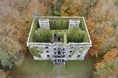 Autumn desolation, Moore Hall, County Mayo (Sean Hartwell Photography) Tags: moorehall mayo ireland ruin ruins manor house dron drone aerial autumn