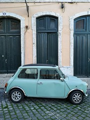 Mini, Lisbon (dave beere) Tags: mini car lisbon lisboa portugal