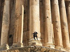 Ancient city of Baalbek, Great Temple and Me. (Alexandr Tikki) Tags: baalbeck tikki alexandrtikki art amazing awesome architecture air autumn abbadoned angle best beauty blue iphone iphonex creative concept crazy dream dreams destiny earth explore lebanon lebanese temple great good fun fantastic funny hero holiday happy happines idea incredible imagine impressive journey june leveltravel light life moment me man minimalism new nature original outdoor perfect people portrait road street travel trip unique view wow world