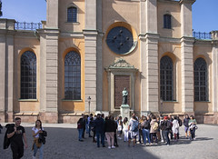 Olaus Petri (wandering tattler) Tags: petri olauspetri persson statue cathedral stockholm reformation lutheran 2019