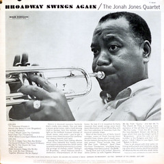 Broadway Swings Again - Back Cover (epiclectic) Tags: 1961 jonahjones backcover epiclectic vintage vinyl record album cover art retro music sleeve collection lp epiclecticcom