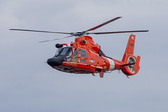 Coast Guard overhead (Tim Brown's Pictures) Tags: washington dc unitedstates aviation aircraft helicopter coastguard us coast guard dauphin 2 dolphin orange flight flying rotary blades