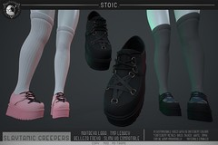 Slaytanic Creepers @ Sad November (.STOIC.   Store Owner) Tags: secondlife sl machinima shoes creepers