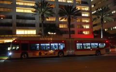 LACMTA 8718_704 Ocean & Arizona (Driver Side) 5-Nov-2019 (jonriley1979@att.net) Tags: lacmta metro losangeles newflyer nfi xn60 rapid xcelsior bus
