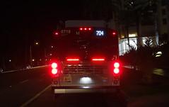 LACMTA 8718_704 Ocean & Arizona (Rear) 5-Nov-2019 (jonriley1979@att.net) Tags: lacmta metro losangeles newflyer nfi xn60 rapid xcelsior bus
