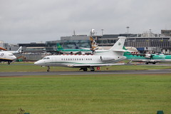 ExecuJetUK M-CELT DUB 22/08/19 (ethana23) Tags: planes planespotting aviation avgeek aircraft aeroplane airplane dassault falcon 7x private bizjet