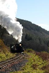BMR 87128 (kgvuk) Tags: bmr breconmountainrailway railway train steam locomotive steamlocomotive steamtrain steamengine breconbeacons baldwin 462 pacific dolygaer torpantau
