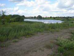 Shunyu lake (staticterminal) Tags: lakes water summer road daugavpils latvia