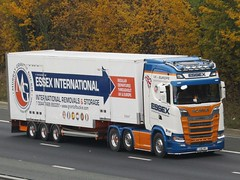 Essex International Transport, Scania S730 (LAC9Y) On The A1M Northbound (Gary Chatterton 7 million Views) Tags: essexinternationaltransport scaniatrucks scanias730 lac9y trucking wagon lorry haulage distribution logistics motorway flickr canonpowershotsx430 photography