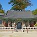 Le pavillon de la cloche du temple Haein-sa (Gyeongsangnam-do, Corée du sud)