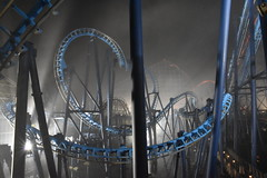 Infusion est. 2007 (CoasterMadMatt) Tags: blackpoolpleasurebeach2019 pleasurebeachblackpool2019 blackpoolpleasurebeach pleasurebeachblackpool blackpool pleasure beach 2019season amusementpark themepark fairground amusement theme park parks amusementparksinengland englishamusementparks blackpoolattractions attractionsinblackpool infusion in fusion invertedcoaster ride rides rollercoasters rollercoaster roller coasters coaster blackpoolsrollercoasters rollercoastersinblackpool englishrollercoasters rollercoastersinengland latenightriding novemberlatenightriding fog foggy meteorologicalphenomenon illumination illuminated litup floodlit inthedark atnight southshore fyldecoast fylde coast lancashire lancs northwestengland northwest england britain greatbritain gb unitedkingdom uk europe november2019 autumn2019 november autumn 2019 coastermadmattphotography coastermadmatt photography photographs photos nikond3500
