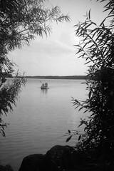 Summer at the lake (Rosenthal Photography) Tags: treu ff120 6x9 see ilfordrapidfixer lina ilfordfp4 gevabox epsonv800 mittelformat plön femke wenke ilfordlc2912921°c9min familie asa125 20190803 analog ella summer lake portrait boat august landscape island sun sunshine clouds mood people gevaert 1951 ilford fp4 fp4plus rapid fixer lc29 epson v800