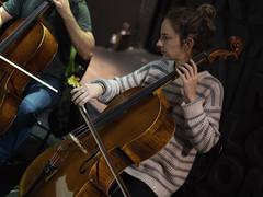 Chelista (Guillermo Relaño) Tags: mendelssohn sueño noche verano especial pqee ¿porquéesespecial camerata musicalis teatro nuevoapolo madrid guillermorelaño sony a7 a7iii a7m3 orquesta orchestra cello chelo violonchelo