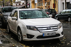 Germany (Stuttgart) - Ford Fusion US (PrincepsLS) Tags: germany german license plate s stuttgart berlin spotting ford fusion