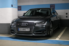 Ukraine (Kiev) - Audi A8 D4 2014 (PrincepsLS) Tags: ukraine ukrainian license plate aa kiev germany berlin spotting audi a8 d4 2014