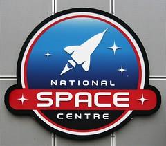 National Space Centre Logo (Grumman G1159) Tags: nationalspacecentre logo badge shield crest insignia