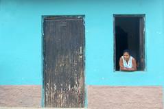 Trinidad Cuba (feray umut) Tags: people architecture door culture cuba places travel blue