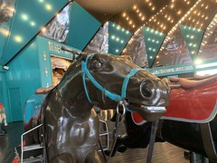 Derby Racer Horse (CoasterMadMatt) Tags: blackpoolpleasurebeach2019 pleasurebeachblackpool2019 blackpoolpleasurebeach pleasurebeachblackpool blackpool pleasure beach 2019season amusementpark themepark fairground amusement theme park parks amusementparksinengland englishamusementparks blackpoolattractions attractionsinblackpool derbyracer derby racer horse ride rides southshore fyldecoast fylde coast lancashire lancs northwestengland northwest england britain greatbritain gb unitedkingdom uk europe november2019 autumn2019 november autumn 2019 coastermadmattphotography coastermadmatt photography photographs photos iphoneography iphone xs