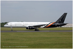 G-ZAPX Boeing 757-256 | Titan Airways | Manchester MAN/EGCC | 29.06.2019 (<Steven>) Tags: man manchesterairport egcc titanairways boeing757