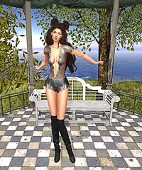 LuceMia - The Darkness Monthly Event (2018 SAFAS AWARD WINNER - Favorite Blogger -) Tags: darknessevent thedarknessmonthlyevent event giuliadesign letituier dress hair aline alinehair triana sl secondlife mesh fashion creations blog beauty hud colors models lucemia