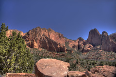 Kolob Canyon  5 (Largeguy1) Tags: approved landscape blue sky canon 5d mark ii