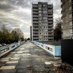 Thamesmead Estate (Flamenco Sun) Tags: socialhousing clockworkorange london estate council
