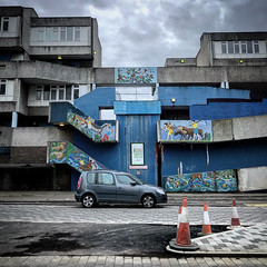 Thamesmead Estate (Flamenco Sun) Tags: clockworkorange socialhousing council estate london