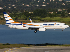Smartwings Hungary | Boeing 737-8CX(WL) | HA-LKG (Bradley's Aviation Photography) Tags: corfu corfuairport corfuinternationalairport greece greek lgkr cfu smartwingshungary boeing7378cxwl halkg b738 737