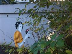Princess Leia (svennevenn) Tags: starwars ikea canevil stencils gatekunst streetart bergen gatekunstbergen streetartbergen princessleia