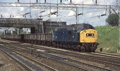 97405 Basford Hall, Crewe (Arthur Stopow) Tags: class 40 97 974 br blue reinstated ee english electric type 4 260 40060