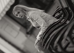 Eve ... FP7051M2 (attila.stefan) Tags: evelin eve chairs girl győr gyor beauty stefán stefan samyang attila aspherical autumn fall ősz pentax portrait portré k50 2019 85mm