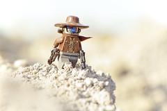 LEGO Cad Bane (weeLEGOman) Tags: lego cad bane star wars clone bounty hunter minifigure toy outdoors outside macro photography uk nikon d7100 105mm robert rob trevissmith weelegoman