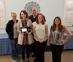 National Cremation Hudson, FL - Congratulations to Chelsi Schauss on 5 Years of Service