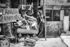 Vulcanizing 24 hours (Beegee49) Tags: street people man woman child boy vulcanizing monochrome blackandwhite bw sony a6400 bacolod city philippines asia happyplanet asiafavorites