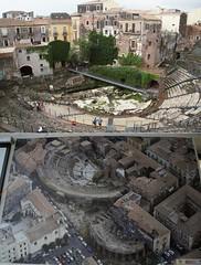 Roman theatre and Odeon (Insher) Tags: theromanamphitheatreofcatania ancient ruins archeology architecture sicilia sicily italy italia catania